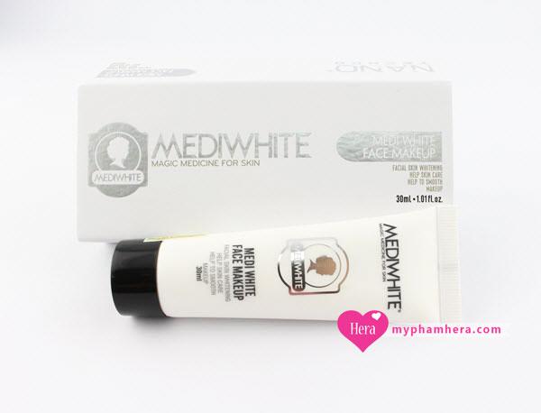 kem chống nắng trang điểm Medi White