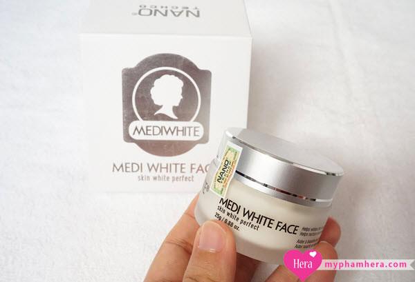 kem dưỡng trắng da mặt Medi White