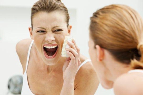 những sai lầm khi chăm sóc da