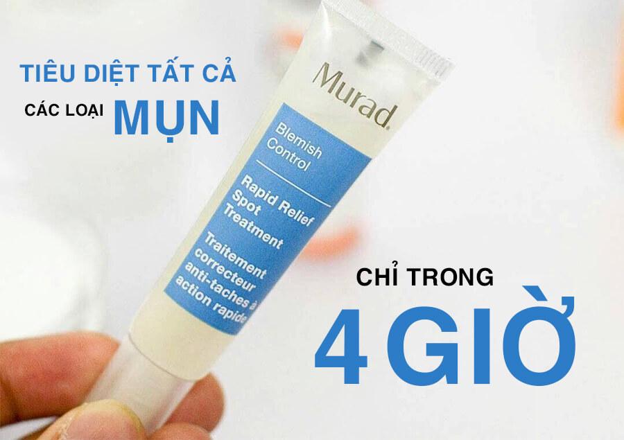 công dụng gel trị mụn murad myphamhera.com