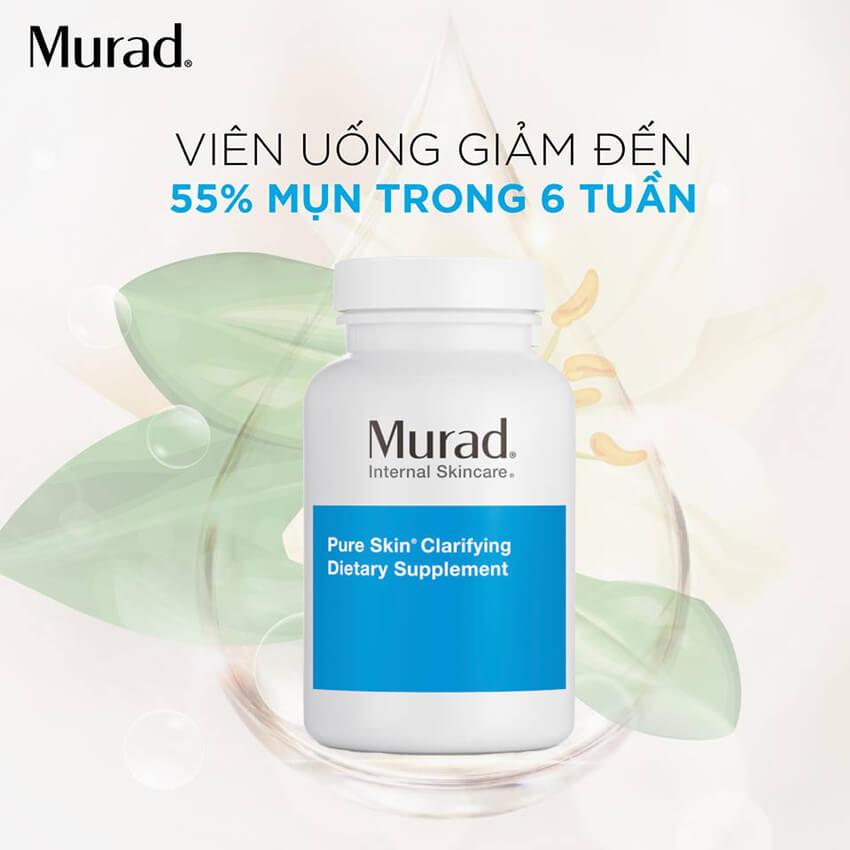 Viên uống trị mụn hiệu quả Murad