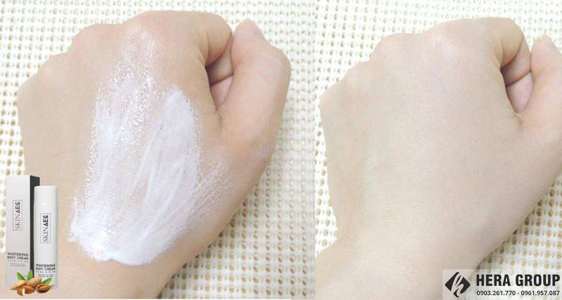 Kem dưỡng trắng da toàn thân Skin AEC có tốt không
