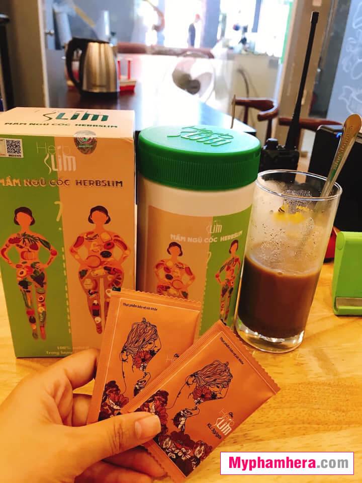 hướng dẫn sử dụng cốm giảm cân herbslim mỹ phẩm hera
