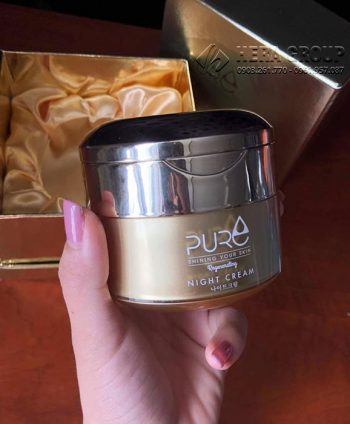 Kem Mộc Qua Pure Night Cream
