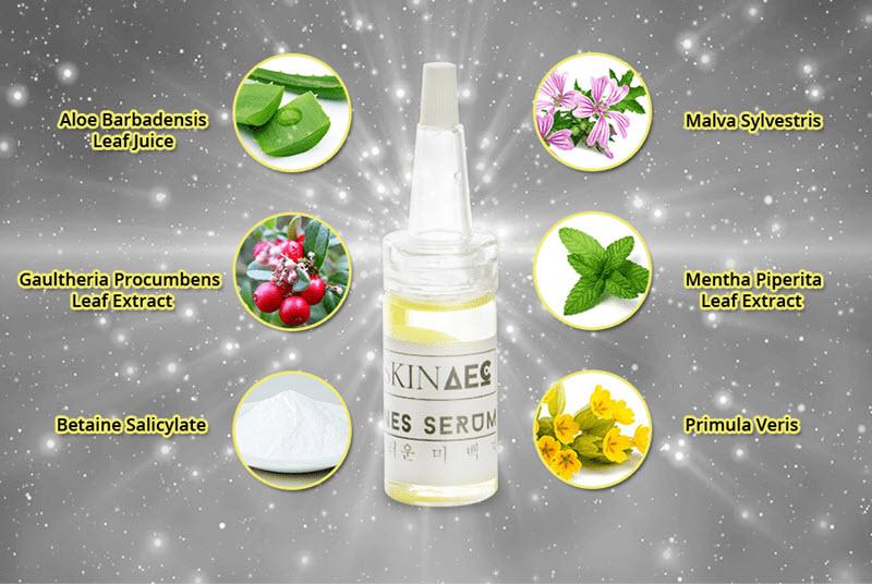 Thành phần serum trị mụn Skin AEC