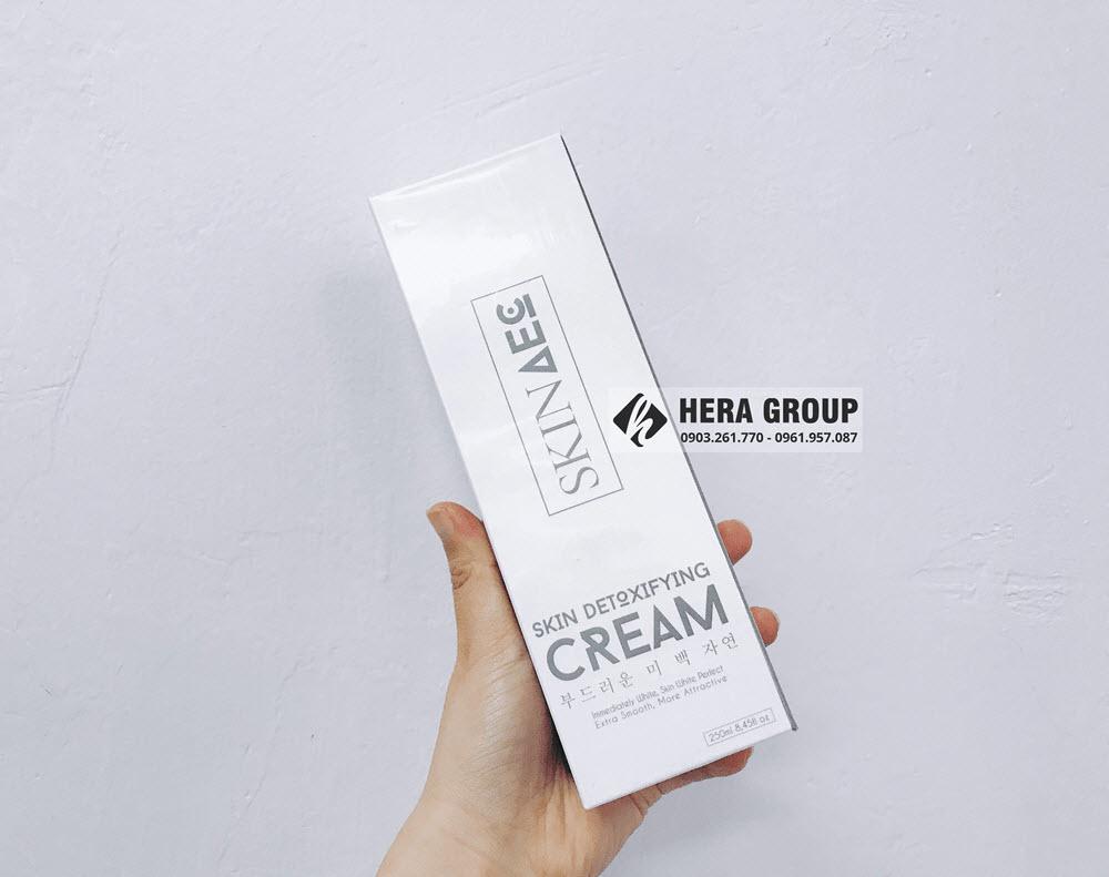 sữa tắm thải độc trắng da Skin AEC có tốt không