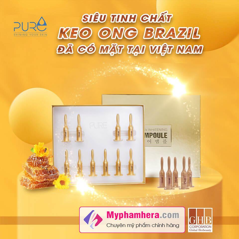 thành phần tinh chất keo ong ampoule myphamhera.com
