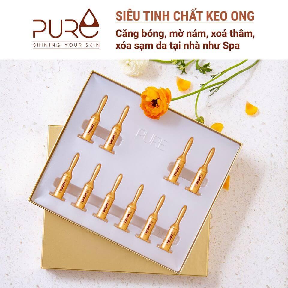 tinh chất keo ong ampoule Pure Hàn Quốc