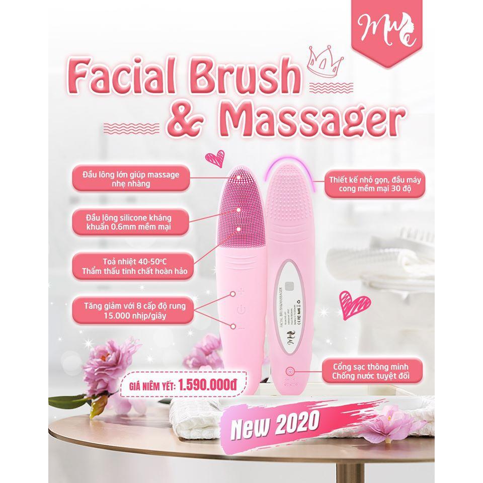 Máy rửa mặt Muse Facial Brush & Massager