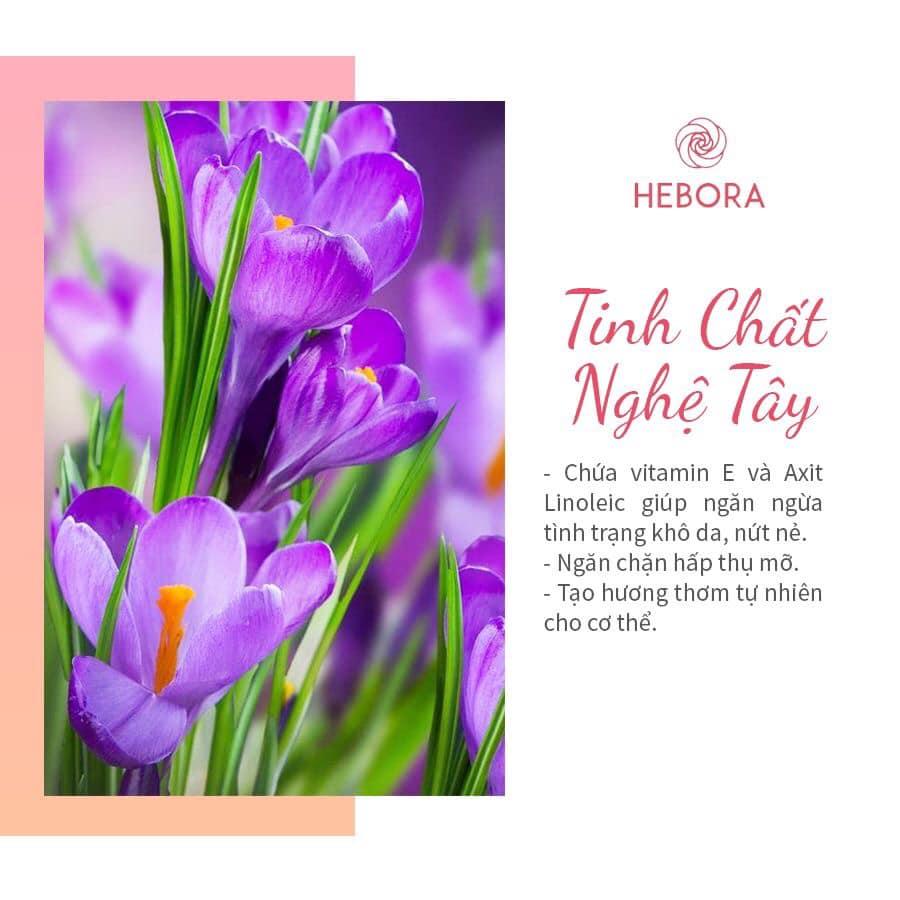 Tinh chất hoa Nghệ Tây - Thành phần viên uống Hebora