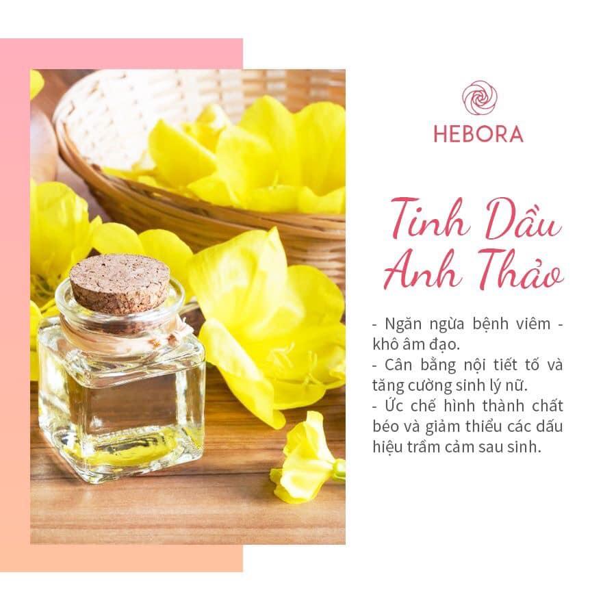 Tinh dầu hoa Anh Thảo - Thành phần viên uống Hebora