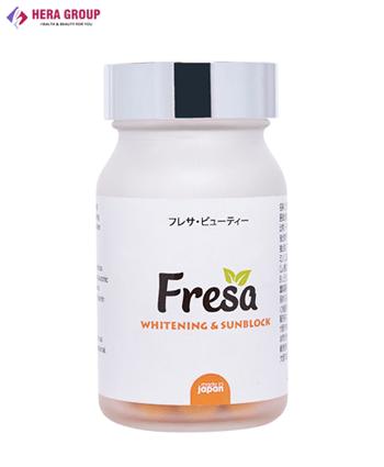 Viên uống trắng da chống nắng Fresa - Phiên bản 2020