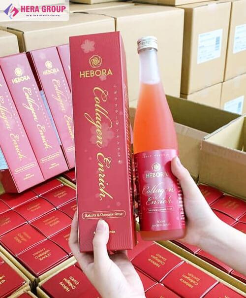 avata nước uống collagen hebora myphamhera.com