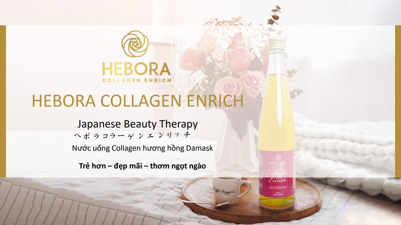 Nước uống collagen Hebora phiên bản cải tiến 2020