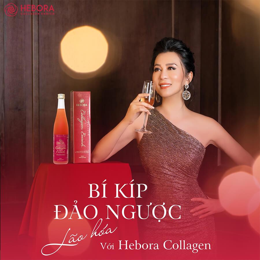 nước uống hebora collagen enrich nguyễn cao kỳ duyên myphamhera.com