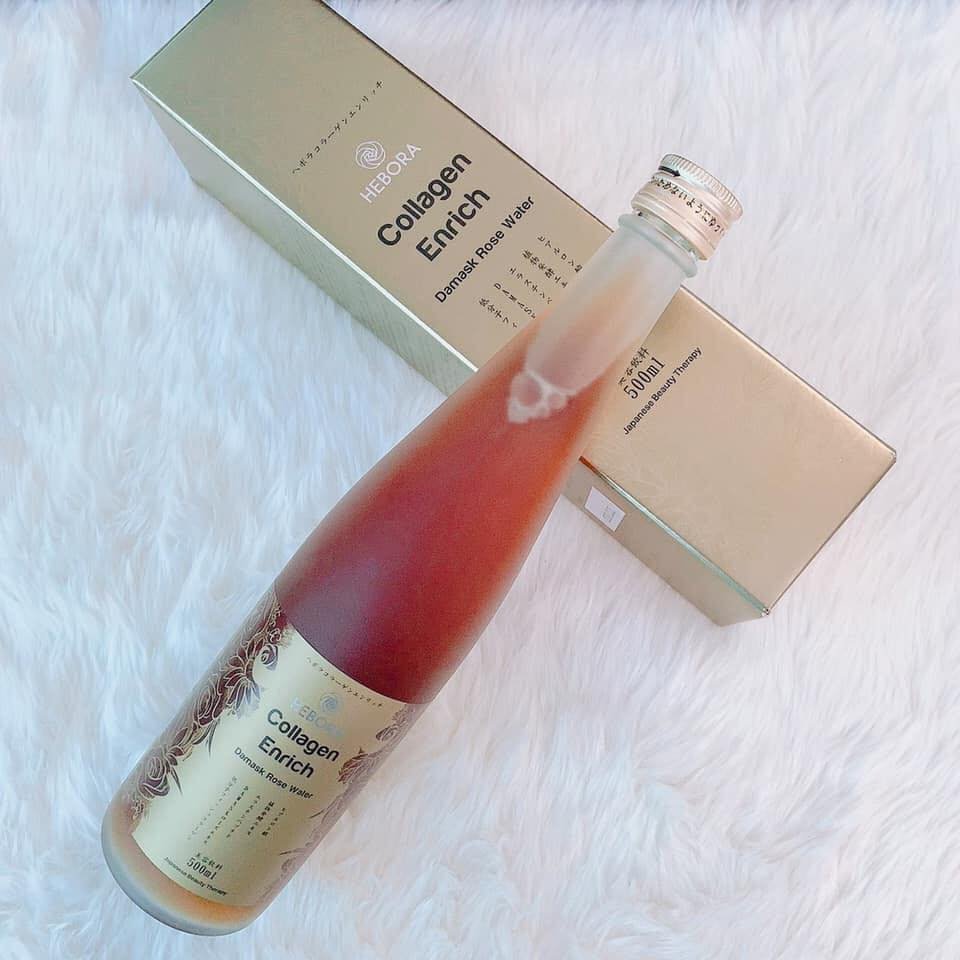 Nước uống Hebora Collagen Nhật Bản