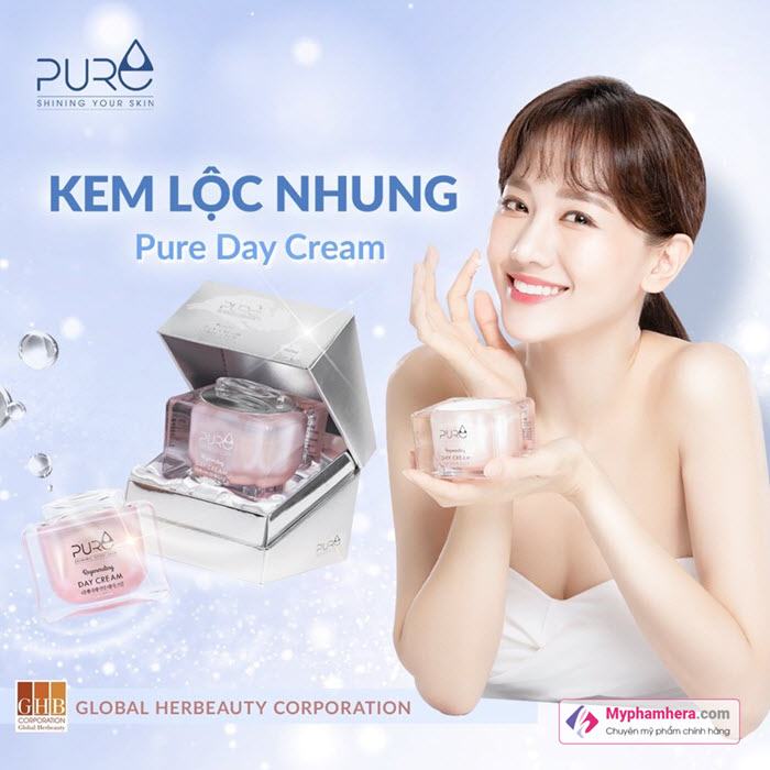 Kem lộc nhung Pure Day Cream