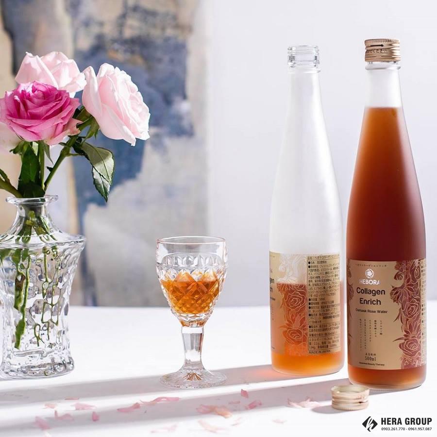 Nước uống Hebora Collagen Nhật Bản có tốt không