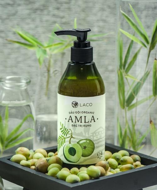 dầu gội chuyên trị ngăn rụng tóc amla