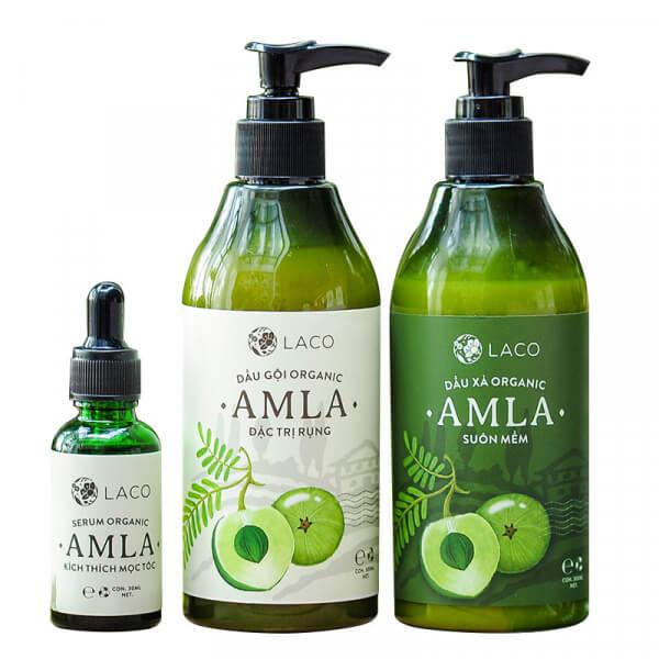 bộ sản phẩm trị rụng tóc amla