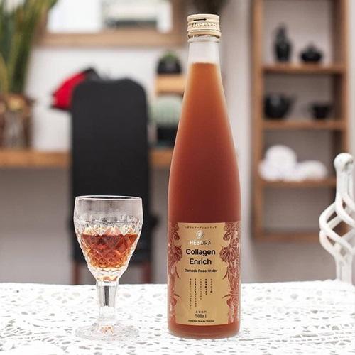 Nước uống collagen Hebora Nhật Bản