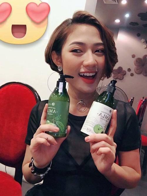 sản phẩm chuyên trị ngăn ngừa rụng tóc diễn viên trang cherry