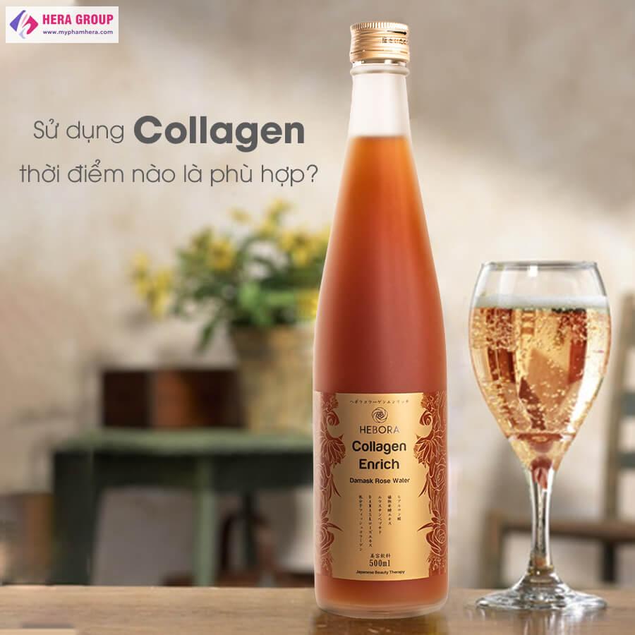 sự thật về nước uống Hebora Collagen Nhật Bản