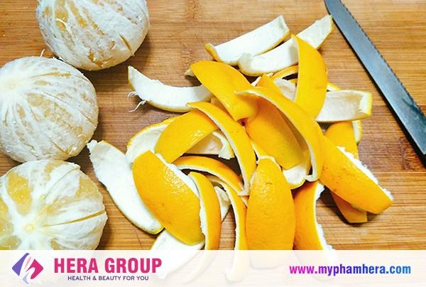 cách khử mùi hôi nách hiệu quả bằng vỏ cam