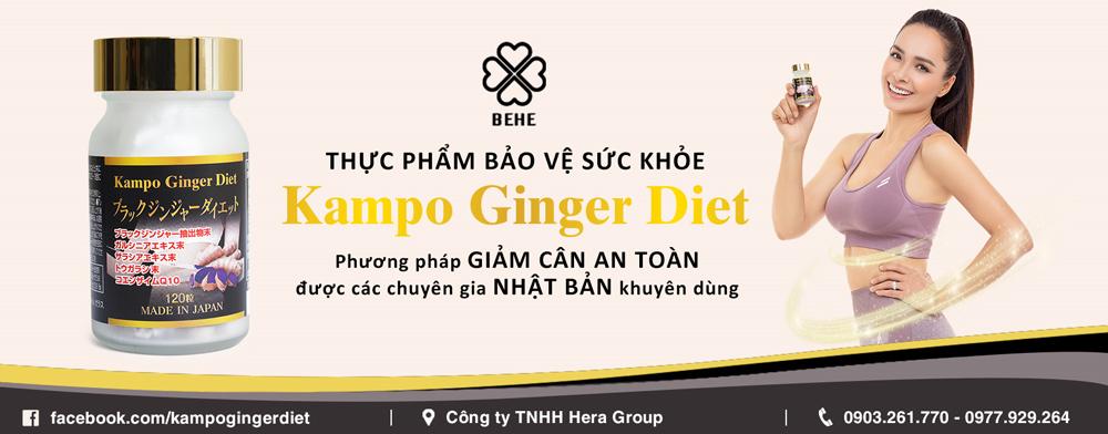 Viên uống giảm cân Kampo Ginger Diet