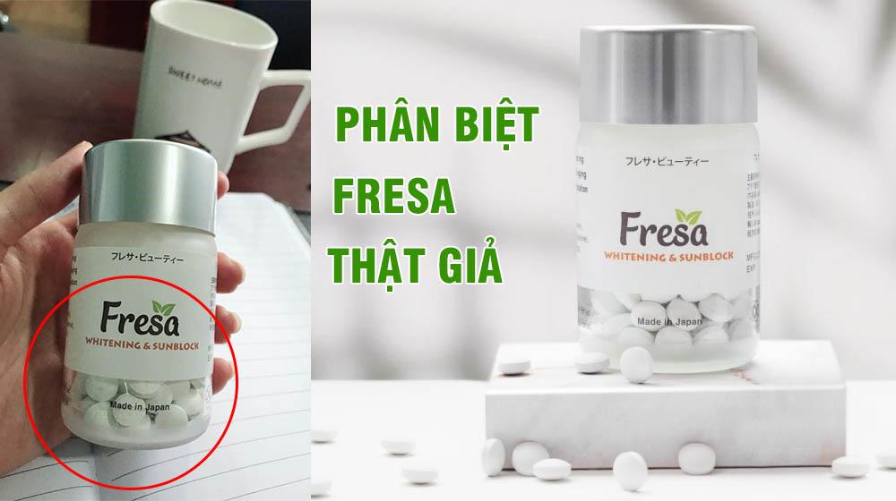 cách phân biệt fresa thật giả