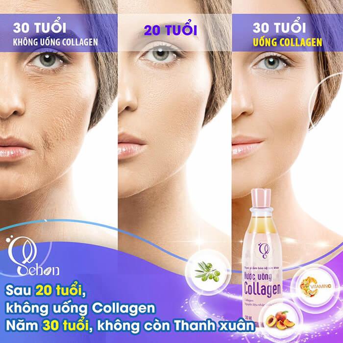 công dụng nước uông collagen tươi schon mỹ phẩm hera