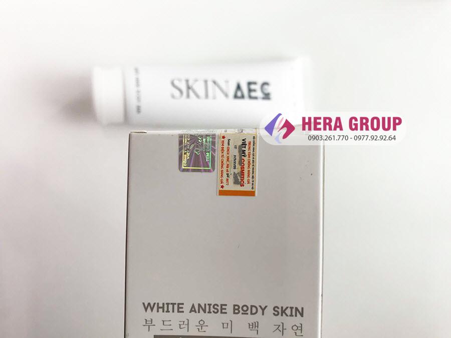 Cách kiểm tra tắm trắng Skin AEC chính hãng mới nhất 2019