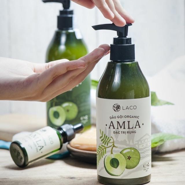 Hướng dẫn sử dụng dầu gội AMLA