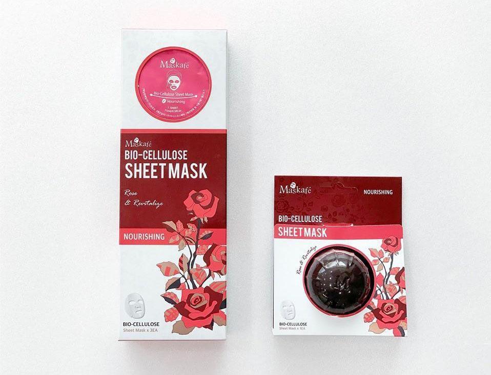 Mặt nạ ngăn ngừa lão hóa Mask Kafe màu hồng