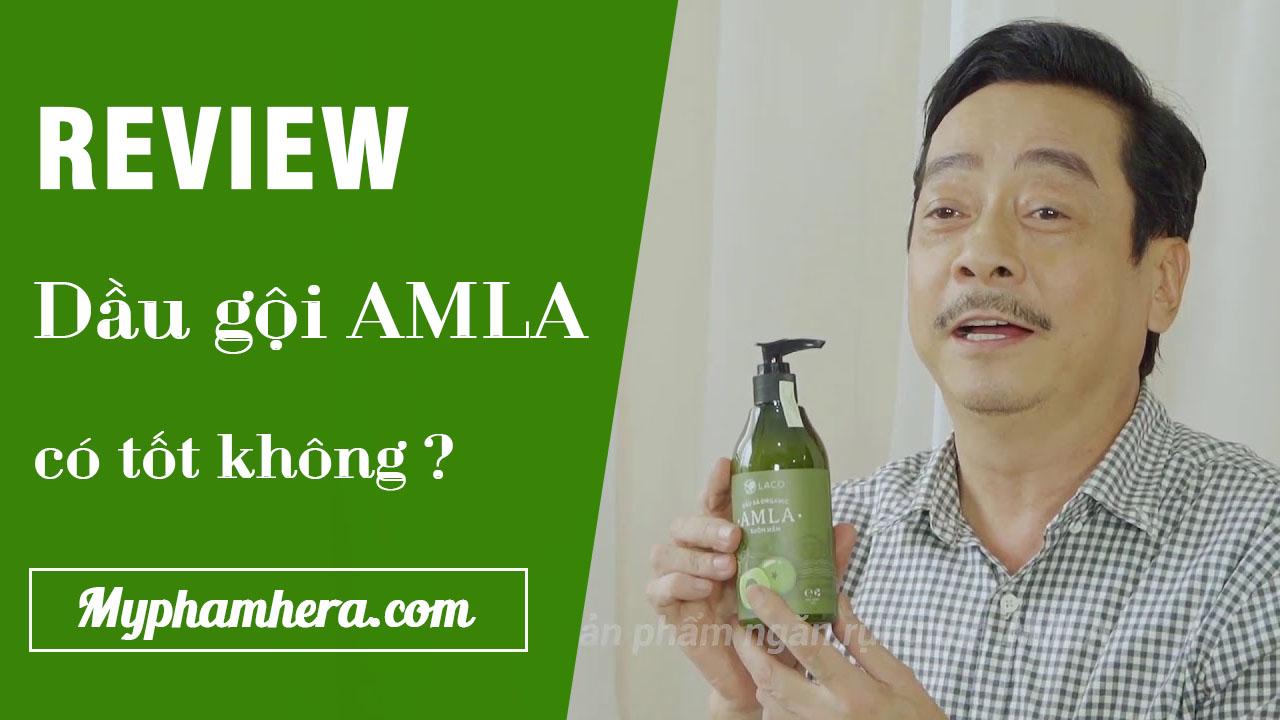 Review dầu gội AMLA có tốt không - Nghệ sĩ Hoàng Dũng