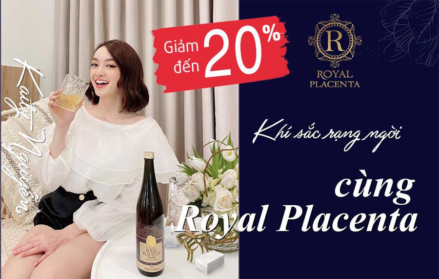 khuyến mãi quà tặng royal placenta 500000 myphamhera.com
