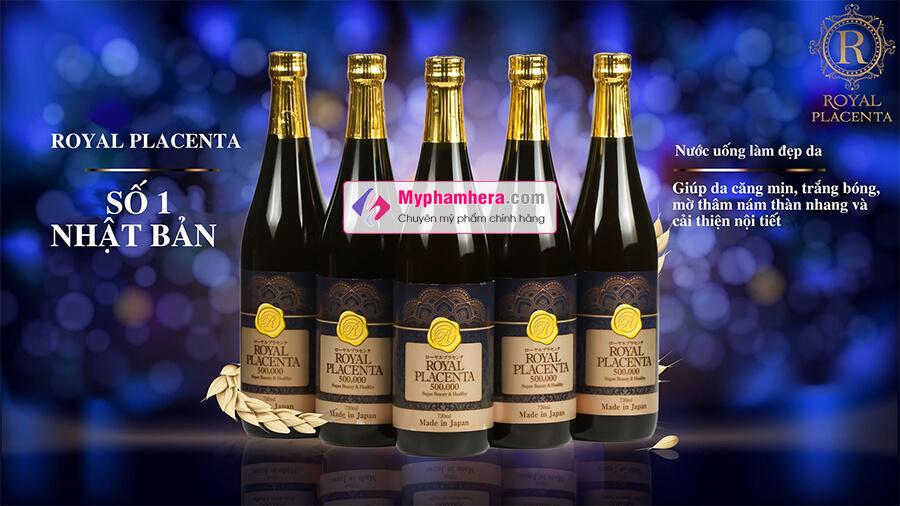 thành phần nước uống collagen royal placenta 500000 myphamhera.com