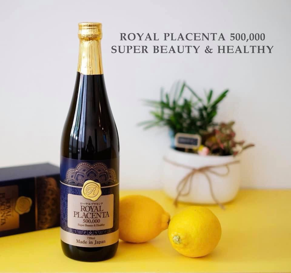 thành phần nước uống đẹp da Royal Placenta Nhật Bản