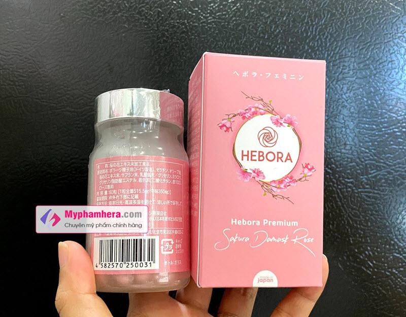 Cách kiểm tra Viên uống Hebora chính hãng chính xác nhất