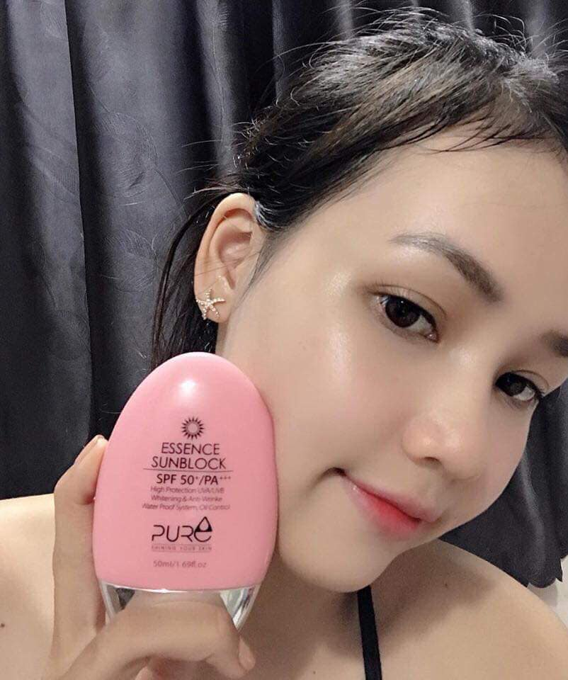 Review sữa chống nắng thảo mộc Pure