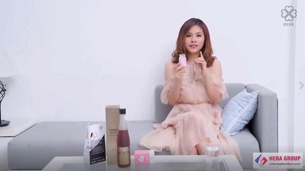 review viên uống hebora Vân Trang