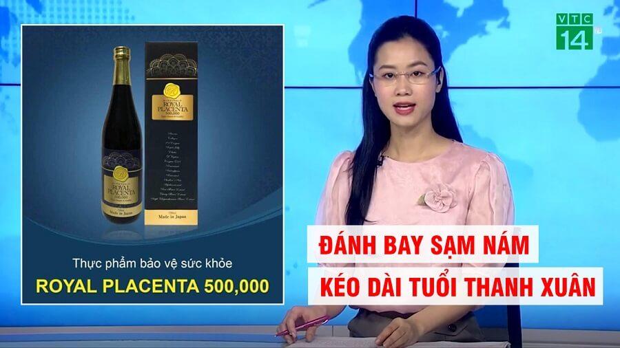nước uống đẹp da royal placenta nhật bản 500000 mg