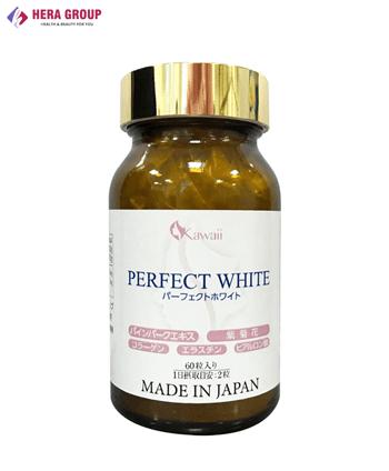Viên uống trắng da Perfect White Nhật Bản