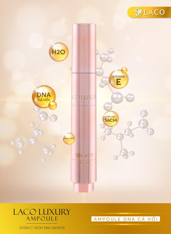 thành phần serum laco luxury ampoule