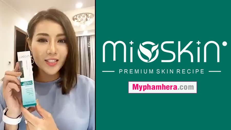 review xịt dưỡng mioskin từ thanh hương mỹ phẩm hera