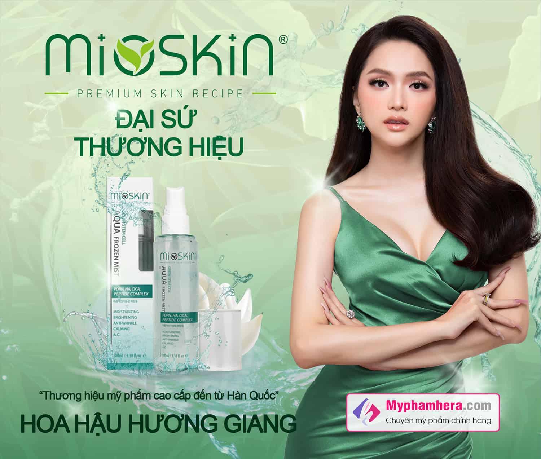 xịt khoáng dưỡng da mioskin hương giang myphamhera.com