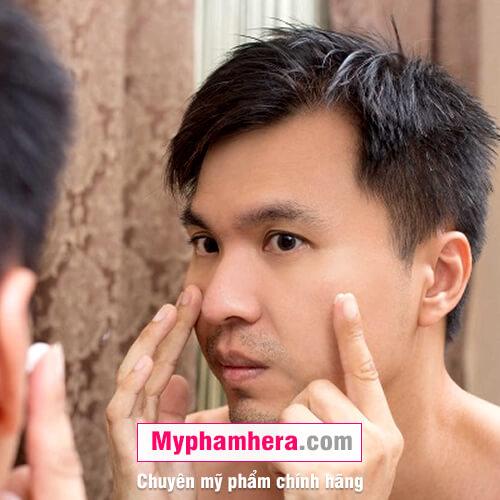 cách chăm sóc da cho nam bằng cách xác định loại da mỹ phẩm hera