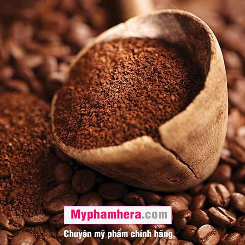 tác dụng của các tẩy tế bào da chết bằng bã cà phê mỹ phẩm hera