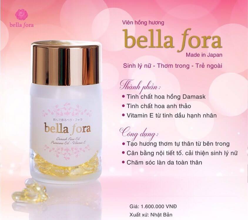 vì sao bạn nên chọn viên uống bella fora mỹ phẩm hera