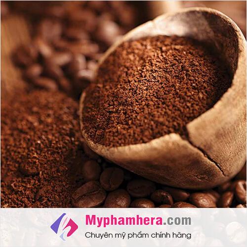 lợi ích cách làm trắng da bằng bột cà phê mỹ phẩm hera